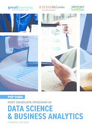 PGP-DSBA Brochure