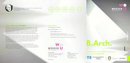 B.Arch Brochure.