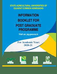 PG Brochure  2020