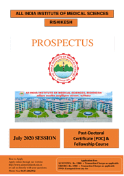 PROSPECTUS - PDCC & FELLOWSHIP