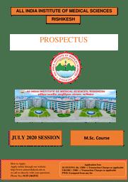 PROSPECTUS -  Fellowship course