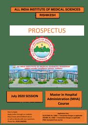 Prospectus-MPH-Course 2020