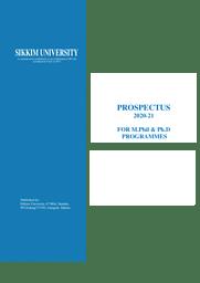 PROSPECTUS-FOR-MPHIL-PHD-2020