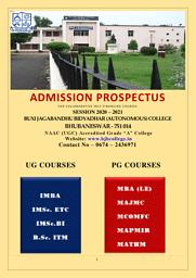 Brochure (self financing courses) 2020