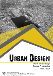 Master of Architecture [M.Arch.] (Urban Design)