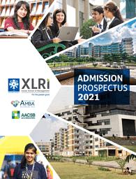 XLRI Admission Brochure