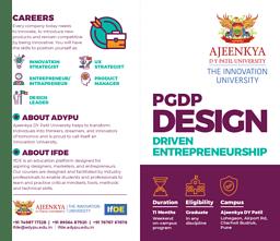 IFDE PGDP Brochure