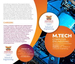 M.Tech Computer Engineering Brochure