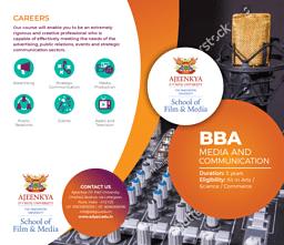 BBA (Media & Communication) Brochure