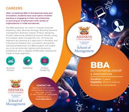BBA (Entrepreneurship & Innovation) Brochure