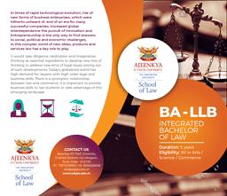 B.A.L.L.B. Brochure