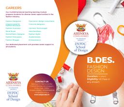 B.Des (Fashion Design) Brochure
