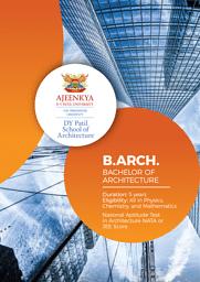 B.Arch Brochure