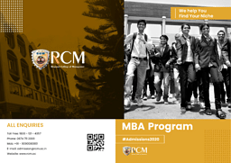 MBA Brochure