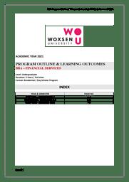 BBA Financial Services Brochure