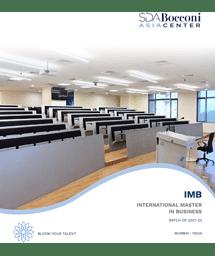 IMB Brochure