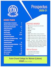 Prospectus 2020-21