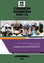 Integrated B.Ed Admission brochure20-21