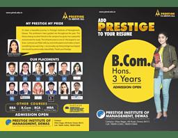 B.Com Hons. Brochure