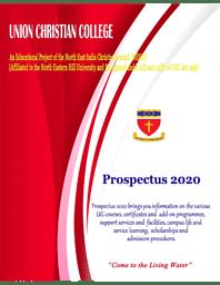 UCC Prospectus 2020
