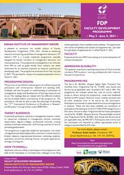 FDP - Brochure