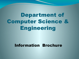 CSE-Information-Brochure