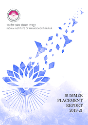 Summer Placement Brochure