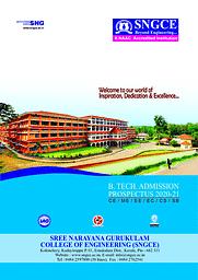 SNGCE Admission Prospectus
