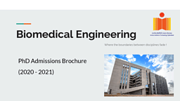 Ph.D BME Brochure