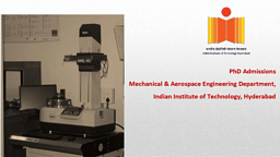 Ph.D Mechanical And Aerospace Engineering Brochure