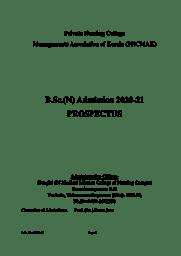 BSC-Prospectus