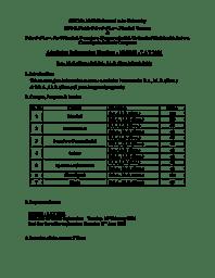 Admission Handout - Law courses