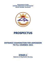 Prospectus- Diploma in Psychiatric Nursing