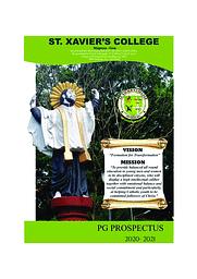 PG course prospectus
