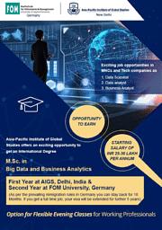 M.Sc. Big Data and Business Analyti