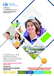 MBA Healthcare Brochure