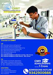CMRIT Flyer