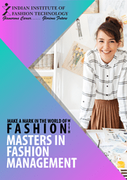 Masters in Fashion Management Brochure