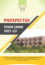 PGDM (ABM) Prospectus