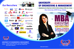 UEM MBA Executive Brochure