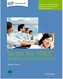 TOEIC speaking and writing test book