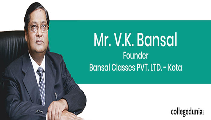 Overcoming all the challenges, Mr. Bansal glorious journey to success of Bansal Classes