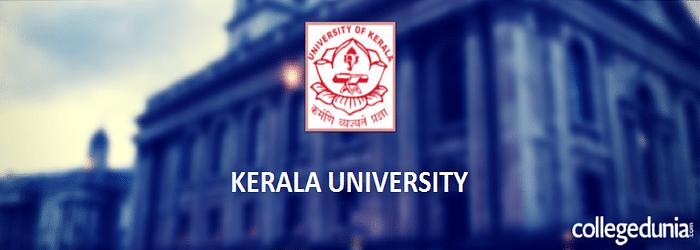 Kerala University B.A. English Admission 2015