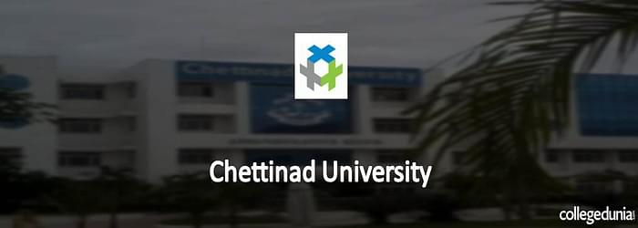 Chettinad Ph.D. Research Fellowship 2015 Notification