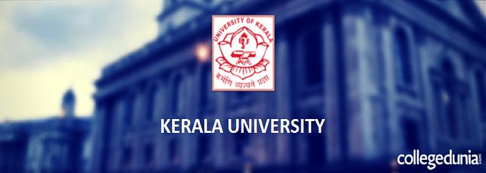 Kerala University M.A. 2015 admission