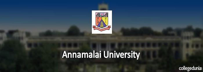 Annamalai University announces MBBS BDS Admissions 2015 Notification