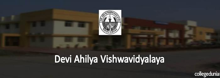 Devi Ahilya Vishwavidyalaya CET 2015 Notification