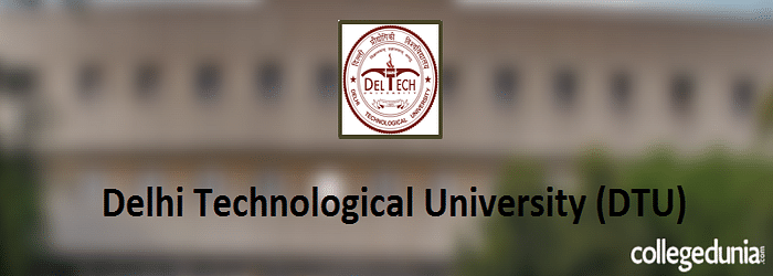 DTU M. Tech. 2015 Admission Notification