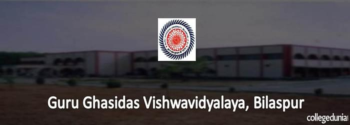 Guru Ghasidas Vishwavidyalaya (GGV) Bilaspur MBA Admission 2015 Notification