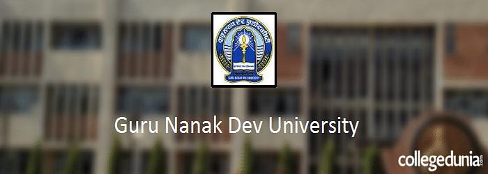 Guru Nanak Dev University (GNDU) Amritsar 2015 Admission Alert for UG & PG Programmes